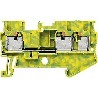 Phoenix Contact PT 2,5-TWIN-PE 3209565 Tripleport PG terminal Number of pins: 3 0.14 mm² 2.5 mm² Green-yellow 1 pc(s)
