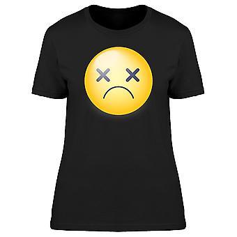 Dead Emoji Cross Eyes Tee Women's -Image by Shutterstock
