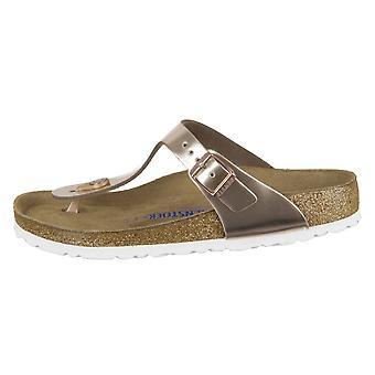 Birkenstock Gizeh NL Sfb Metallic Copper 1005048 universal summer women shoes