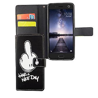 Teléfono móvil Funda para móvil blade ZTE V8 tienen un día agradable negro