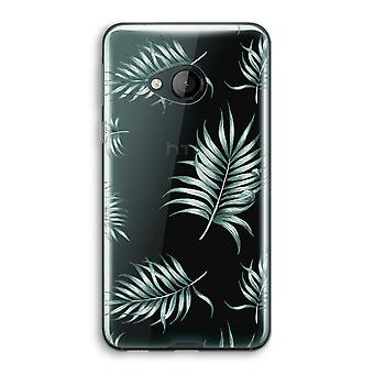 HTC U Play Transparent Case (Soft) - Simple leaves