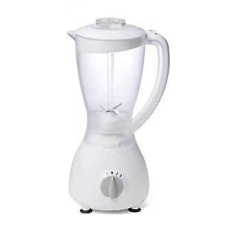 Omega 30252 BG-52 White 350W 2 Speed Jug Blender 1.5L With Spice Grinder