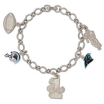 Wincraft ladies of charms bracelet - NFL Carolina Panthers