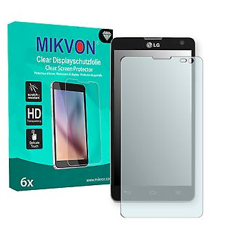 LG Optimus L9 II Screen Protector - Mikvon Clear (Retail-Paket mit Zubehör)