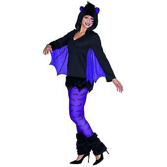 Bat costume schwatz purple women's Carnival Halloween pet costume