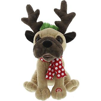 Festive Productions Dancing Dog with Antlers Christmas Xmas Decoration