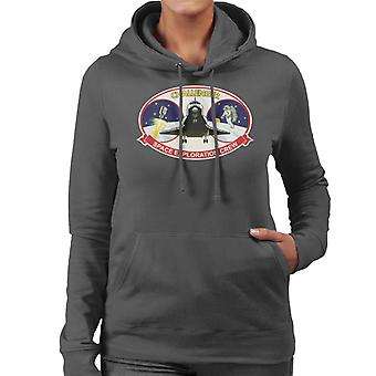 NASA STS 41B Challenger Mission Patch Women's Hooded Sweatshirt