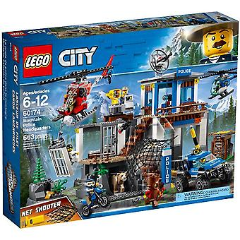 60174 LEGO police station on the mountain