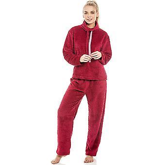 Ensemble de Pyjama rouge polaire Supersoft Camille Womens