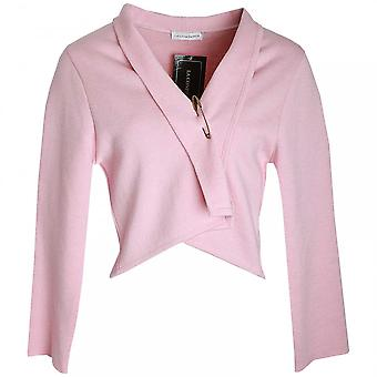 La Confidence Bow Detail Long Sleeve Knitted Jacket