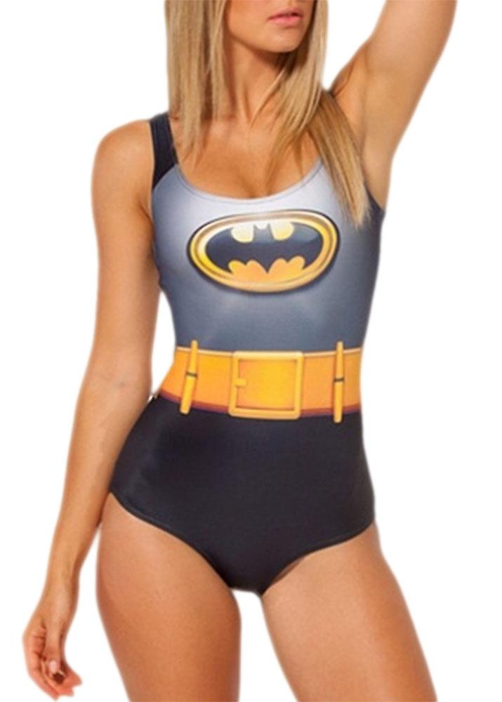Waooh - Swimwear one piece printed Batman Ha'ir