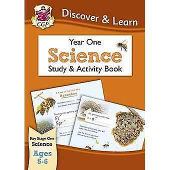 KS1 Discover & Learn - Science - Study & Activity Book - Year 1 by CGP