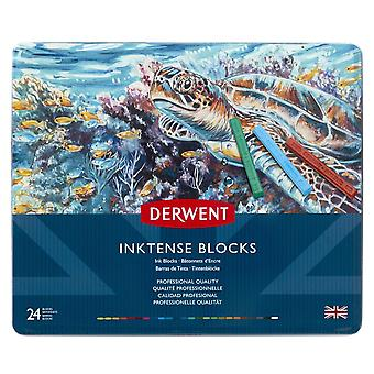 Derwent Inktense Blocks 24 Tin