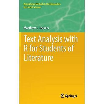 Textanalys med R för studenter i litteratur av Matthew L. Jockers