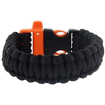 The Olivia Collection Mens - Boys Black Paracord 9