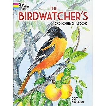 Vogelbeobachter ist Buch (Dover Malbüchern) Färbung.