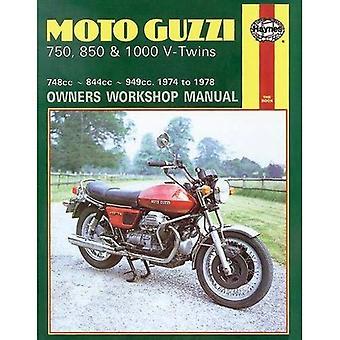 Moto Guzzi V-Twins Owner's Workshop Manual (Motorcycle Manuals)