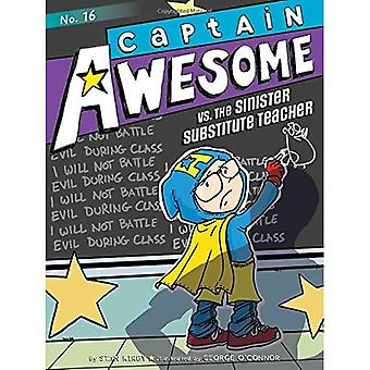 Captain Awesome vs. den olycksbådande lärarvikarie