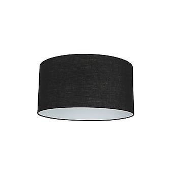 Cilindro QAZQA cortina 50/50/25 negro