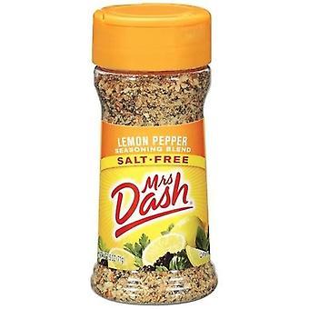 Fru Dash sitron Pepper Salt uten krydder blanding