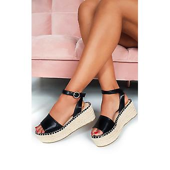 IKRUSH Womens Maggie Flatform Sandals