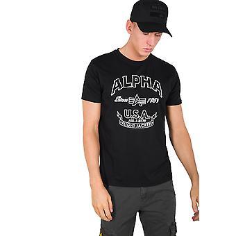 Alpha industries mäns T-Shirt Alpha FJ