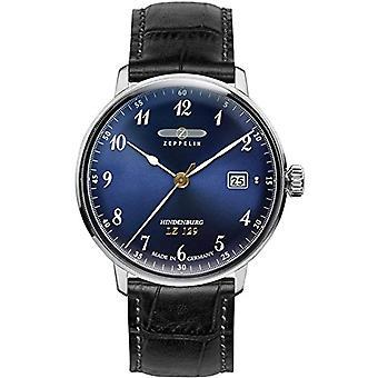 Zeppelin _ Leather Bracelet quartz chronograph unisex watch 7046 _ 3