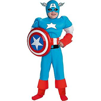 Prestige Captain America Child Costume