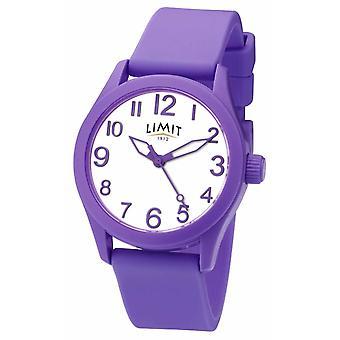 Limit | Purple Silicone Strap | White Dial | 5722 Watch