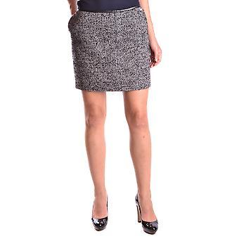 Liu Jo Black Wool Skirt
