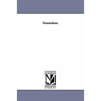 Transaktioner. av Michigan Tandläkarförbund