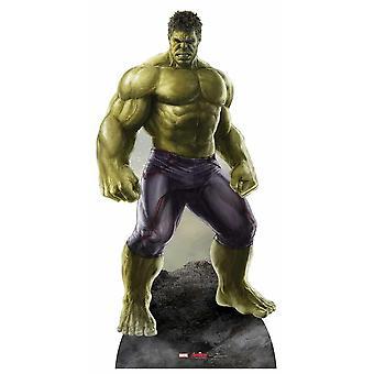Avengers idade de recorte de papelão Lifesize Ultron Marvel o Hulk / cartaz / stand-up
