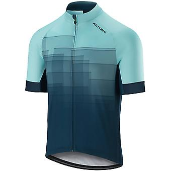 Altura Teal-Turquoise 2019 Icon Ascend Short Sleeved Cycling Jersey