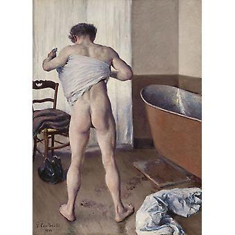 O homem no banho, Gustave Caillebotte, 60x43cm