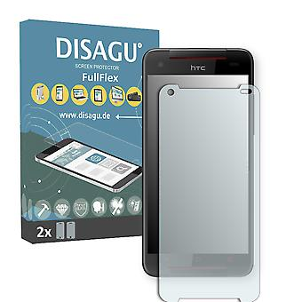 HTC Butterfly S LTE display protector - DISAGU FullFlex protector