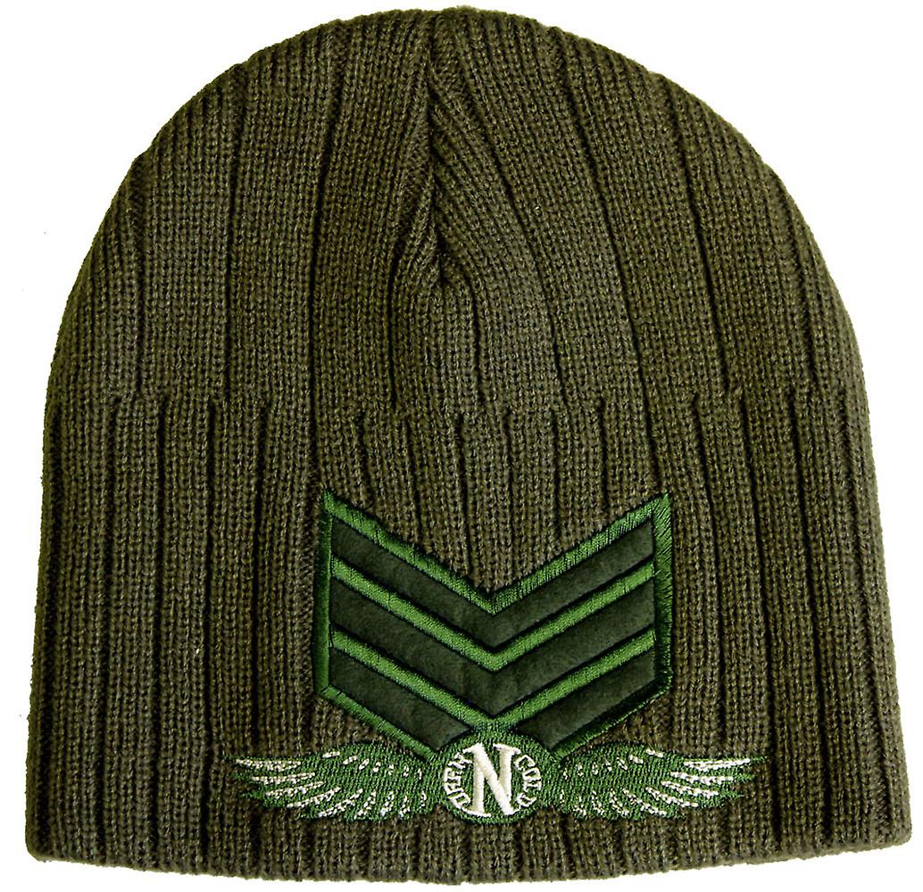 Dark n Cold Army Beanie Olive Green