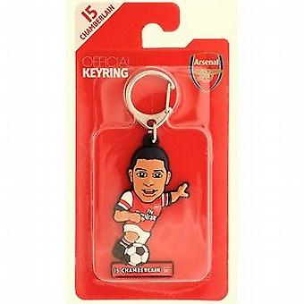 Arsenal Oficial Licensed Soccer Buddies Football Keyring-Alex Oxlade-Chamberlain