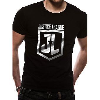Men's Justice League Foil Logo T-Shirt