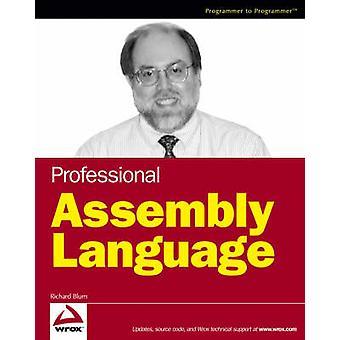 Professional Assembly Language Programming by Richard Blum - 97807645