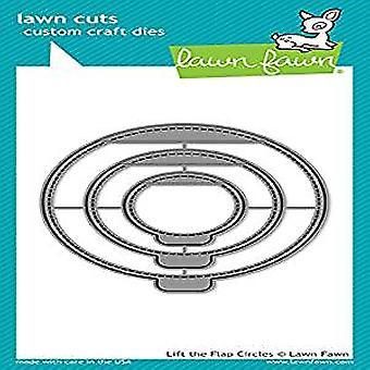 Lawn Fawn Lift the Flap Circles Dies (LF1714)