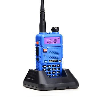 Professional Walkie talkie with flashlight, blue