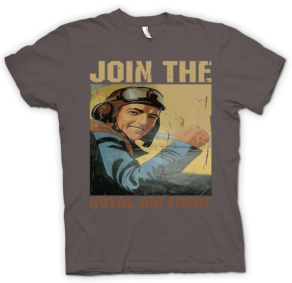Mens T-shirt - Join The Royal Air Force - RAF WW2