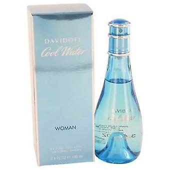 Cool Water By Davidoff Eau De Toilette Spray 3.4 Oz (women) V728-402092