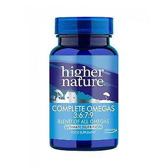 Higher Nature Complete Omega 3-6-7-9 Capsules 180