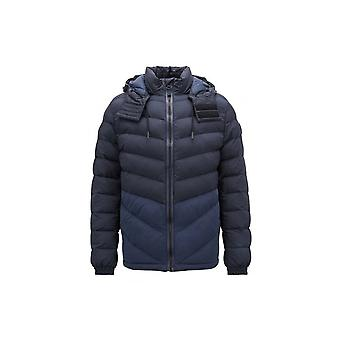 Hugo Boss Casual Hugo Boss Men's Navy Blue Obrook Padded Jacket
