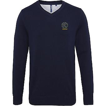 Small Arms School Embroidered Veteran - Licensed British Army Embroidered Jumper