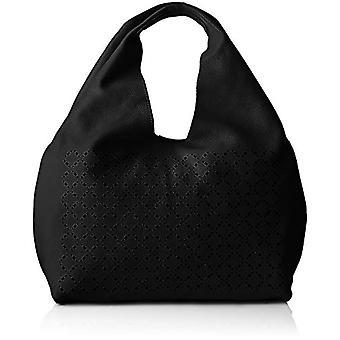 Chicca Bags Cbc3331tar Black Women's Shoulder bag 13x25x36 cm (W x H x L)
