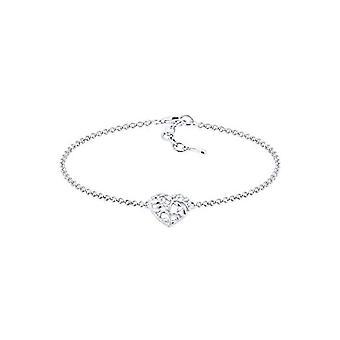 Elli Silver Women's Bracelet 925 - Heart