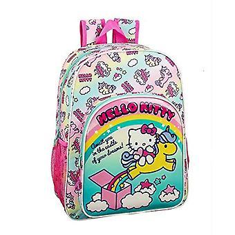 Hello Kitty Candy Unicorns Zaino grande adattabile al carrello