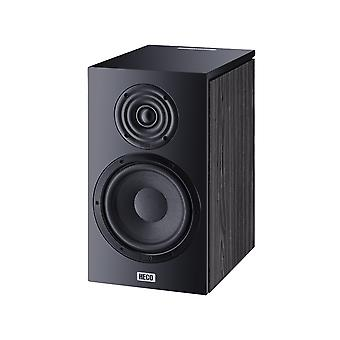 B-ware Heco Aurora 300, Bookshelf speaker, 2-way bass reflex, black, 1 pair